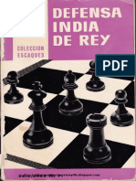 Defensa India Del Rey Pedro Cherta