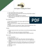 ArtCAM Express Step by Step for iCarver Mar 8