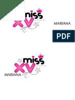 Mariana Xv