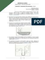 Hidraulica Geral Lista de Exercicios - Eng Civil Noturno - 2013