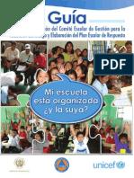 Comite Escolar de Reducccion de Desastre