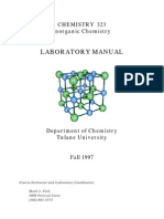 Inorganic Lab Manual
