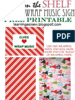 Elf on the Shelf - Elves Love Wrap Music