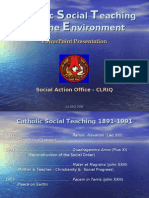 Catholic Social Teaching Powerpoint
