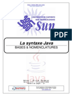 Cours Syntaxe Java
