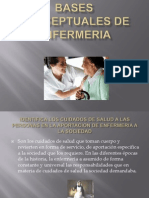Bases Conceptuales de Enfermeria
