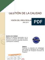 GESTIÓN DE LA CALIDAD REGLAMENTACIÓN