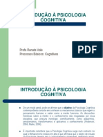 Introducao a Psicologia Cognitiva Slides