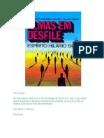 Almas em Desfile (psicografia Chico Xavier e Waldo Vieira - espírito Hilário Silva)