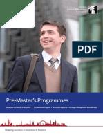 Pre Masters Factsheet