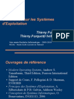 Cours OS - Chapitre 1 Introduction - 2009-2010