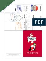 Elf on the Shelf Passport
