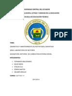 Informe Final de Motores Diesel II