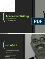 Academic Writing SH 09
