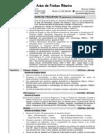 Artur de Freitas Ribeiro - Currículo CV   Resumé - Português & Inglês(English)- 2014-04-24