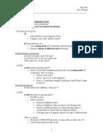 CIV Pro Test Outline