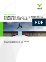 From Basic Cell Site to Integrated Service Delivery Hub - White Paper