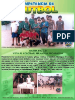 6A.Competencia de Futbol Iglesia U.C.C.D.