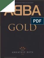 Abba Greatest_hits Piano Partituras