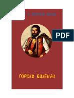Petar II Petrovic Njegos - Gorski Vijenac