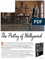 Poetry of Hollywood