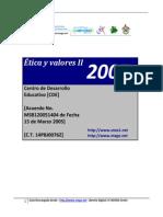 07 D. B. - Etica y Valores II
