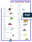 Vocabulary Mon Test 2