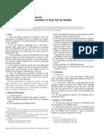 ASTM D 4221 – 99  DOBLE HIDROMETRO