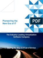 Corporate Overview - Pioneering the New Era of IT