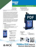 Pulsatron Plus Series CL Specifications En