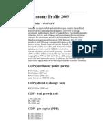 Pakistan Economy Profile 2009