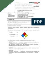 HojaDatosSeguridad AsfaltoSolido60 70PEN Dic2013