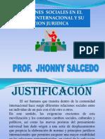 Diapositiva de Relaciones Sociales en El Ambito Internacional