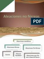 Aleaciones no férreas (1)