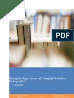 Changing Workforce Demographics