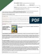 edps  5350 comprehension lesson plan