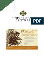¡Mi denuncia, por la infamia realizada por una de sus Profesoras, ante el Señor Rector de la Universidad Central de Colombia, en Bogotá, el Doctor Don Rafael Santos Calderón…!