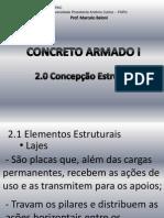 2-Concepção Estrutural