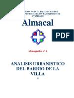 ALMACAL. Análisis urbanístico del Barrio de La Villa