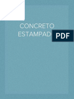 CONCRETO ESTAMPADO