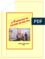 LA FUNDICIÓN DE ESTAÑO EN BOLIVIA