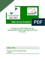 12 Modelo Contrato de Transporte Escolar