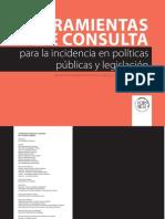 CDHDF, Herramientas de consulta para la incidencia en políticas públicas y legislación. Marcos normativos aplicables al distrito federal