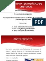 El impacto financiero del IETU en las PyMES de Chetumal.pdf