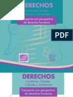 CDHDF Transporte Con Perspectiva de Derechos Humanos