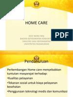 Konsep Home Care for Pelatihan Perkesmas