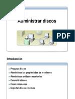 Administrar Discos