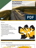 Novidades SAP para a Gestão Tributária
