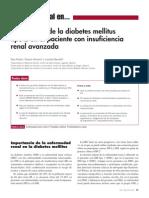 Antidiabéticos orales en enfermedad renal crónica