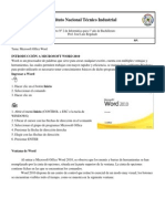 F2 Informatica 1º MS Word